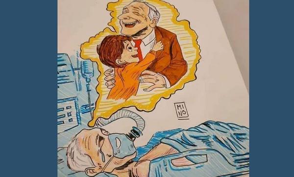 Κορονοϊός: Αυτό το συγκλονιστικό σκίτσο κάνει το γύρο του διαδικτύου & υπάρχει λόγος