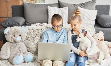 #Μένουμε_Σπίτι: Βιντεοπροβολή και άσκηση για παιδιά της Ε' δημοτικού (vid+pic)