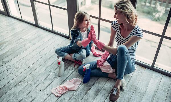 Καθαριστικά μυστικά ανά δωμάτιο για να προστατέψετε την οικογένειά σας από τον κορονοϊό