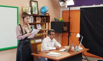 Το πρόγραμμα των πρώτων ημερών του τηλεοπτικού σχολείου της ΕΡΤ2