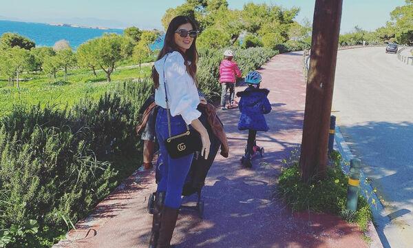 Σταματίνα Τσιμτσιλή: Δείτε τι έκανε όλο το Σαββατοκύριακο με τα παιδιά στο σπίτι