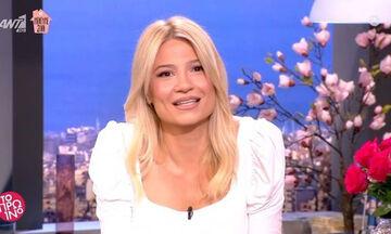 Φαίη Σκορδά: Επέστρεψε στο Πρωινό – Όλα όσα είπε για τις δύο εβδομάδες που ήταν σε καραντίνα!