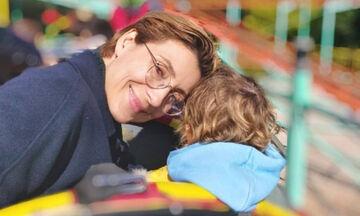 Ευδοκία Ρουμελιώτη: Η σπάνια οικογενειακή φωτογραφία με τα παιδιά και το συγκινητικό της μήνυμα