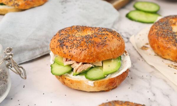 Συνταγή για σπιτικά bagels