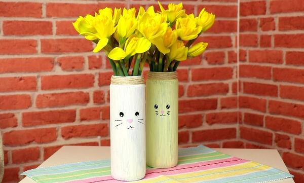 #Μένουμε_Σπίτι: Φτιάξτε υπέροχα πασχαλινά βάζα για να διακοσμήσετε το σπίτι σας (vid)