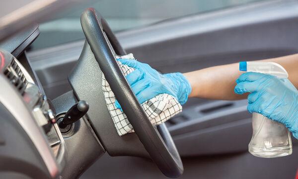 Κορονοϊός: Έτσι θα απολυμάνετε σωστά το εσωτερικό του αυτοκινήτου σας (vid)
