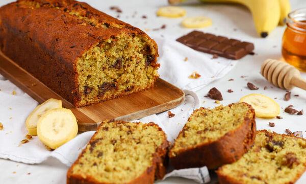 Συνταγή για υγιεινό και πεντανόστιμο banana bread