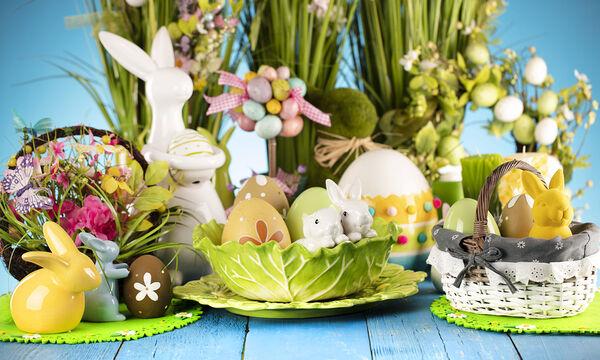 #Μένουμε _σπίτι:  Έξυπνα tips για να στολίσετε το σπίτι σας το Πάσχα (vid)