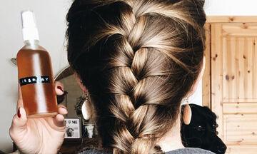 Το πιο εύκολο DIY σπρέι για τα ξηρά μαλλιά