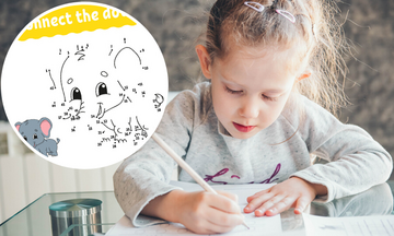 #Μένουμε_σπίτι: Ενώστε τις τελείες-Χρωμοσελίδες για να περάσουν τα παιδιά την ώρα τους δημιουργικά