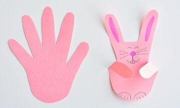 Χειροτεχνίες για παιδιά: Με αυτό το trick θα φτιάξετε τα πιο όμορφα πασχαλινά λαγουδάκια (vid)