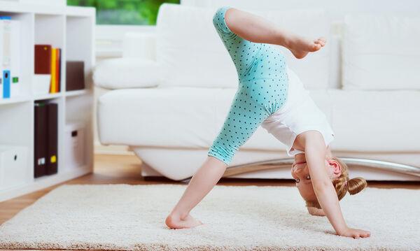 Ασκήσεις για παιδιά από το σπίτι - 12λεπτο πρόγραμμα (vid)