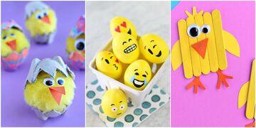 #Πάσχα_στο_Σπίτι: Τριάντα πασχαλινές κατασκευές που θα λατρέψει κάθε παιδί (pics)