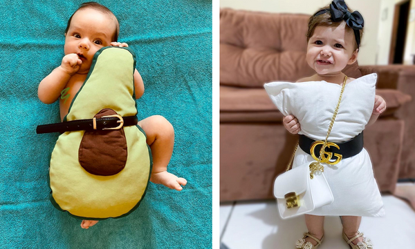 #Pillowhautecouture - Οι απολαυστικές φώτο παιδιών για τη νέα πρόκληση της καραντίνας (pics)