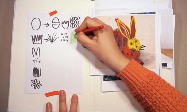 #snfccAtHome_εργαστήριο για παιδιά: Δείτε πώς θα φτιάξετε υπέροχες πασχαλινές κάρτες (vid)