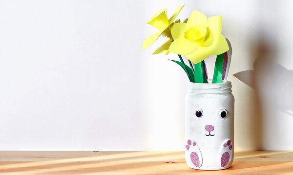 Πώς θα φτιάξετε βήμα βήμα μια πασχαλινή γυάλα με τα παιδιά σας (pics)