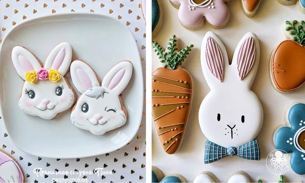 #Πάσχα_στο_Σπίτι: Επτά ιδέες για να φτιάξετε εντυπωσιακά μπισκότα - λαγουδάκια (pics)