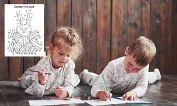 #Μένουμε_σπίτι: Υπέροχες πασχαλινές χρωμοσελίδες «Ένωσε τις τελείες» για παιδιά (pics)