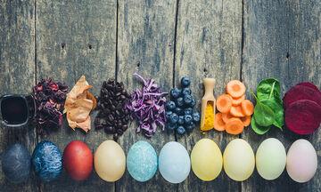 Βάψτε τα πασχαλινά σας αβγά φυσικά - Δείτε πώς (pics)