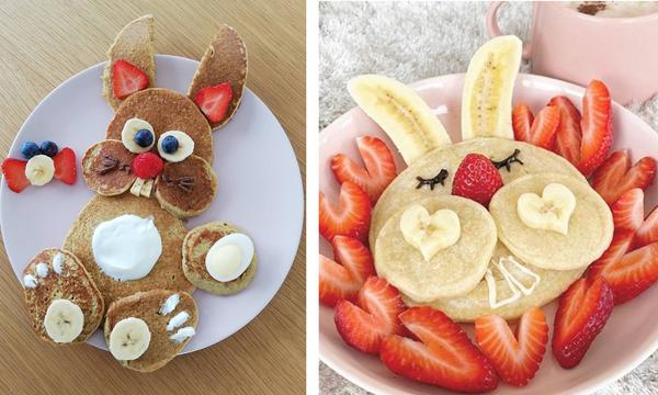 #Πάσχα_στο_Σπίτι: Αυτά είναι τα πιο πασχαλινά pancakes που μπορείτε να φτιάξετε για πρωινό (pics)