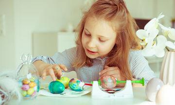 Πασχαλινό πρόγραμμα βαρεμάρας: Ιδέες για να απασχολήσετε τα παιδιά στο σπίτι τη Μεγάλη Παρασκευή