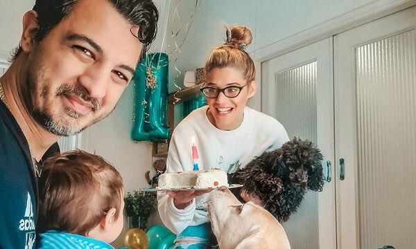 Δήμος Αναστασιάδης: Ντύθηκε ασορτί με τον γιο του - Δείτε τη φωτογραφία που ανέβασε η Τζένη Θεωνά