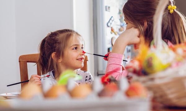 Πασχαλινό πρόγραμμα βαρεμάρας: Ιδέες για να απασχολήσετε τα παιδιά στο σπίτι τη Δευτέρα του Πάσχα