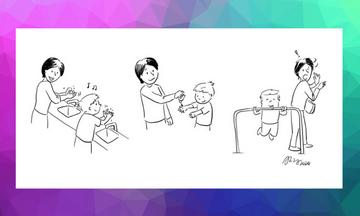 Αυτά τα comic έγιναν viral και αποτυπώνουν την πραγματικότητα της ζωής των γονιών εν μέσω καραντίνας