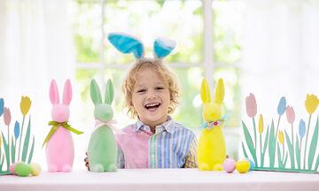 Πασχαλινό πρόγραμμα βαρεμάρας: Ιδέες για να απασχολήσετε τα παιδιά στο σπίτι την Τρίτη του Πάσχα
