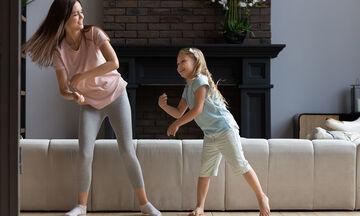 Γυμναστική για παιδιά: #Μένουμε_Σπίτι και γυμναζόμαστε... χορεύοντας (vid)