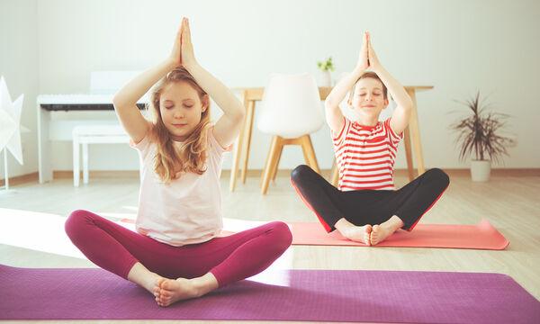 Τα οφέλη της γυμναστικής στα παιδιά ακόμη και στο σπίτι (vids)