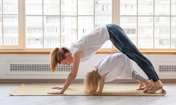 #Μένουμε_Σπίτι: Εύκολες ασκήσεις yoga για παιδιά και μεγάλους (vid)