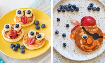 #Mένουμε_Σπίτι και φτιάχνουμε για πρωινό pancakes ζωάκια - Έξι ιδέες που θα λατρέψετε (pics)