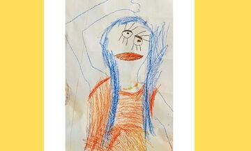 #Μένουμε_σπίτι: Διάσημη μαμά μας δείχνει πώς τη ζωγράφισε το παιδί της (pics)