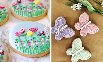 #Mένουμε_Σπίτι: Οκτώ τέλειες ιδέες για να φτιάξετε ανοιξιάτικα μπισκότα με τα παιδιά (pics)