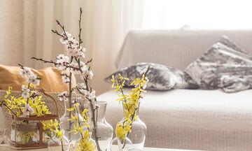 #Μένουμε_Σπίτι: Ιδέες για την ανοιξιάτικη διακόσμηση του μικρού σαλονιού σας (vid)