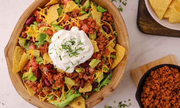Τι θα φάτε σήμερα; Νόστιμη μεξικάνικη σαλάτα