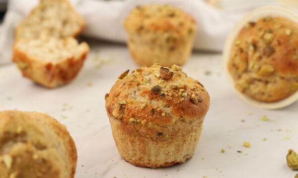 Γρήγορα muffins με 7 υλικά χωρίς γάλα και αβγά