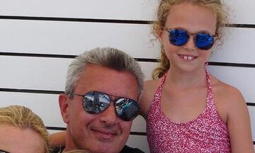 Νίκος Χατζηνικολάου: Μετακίνηση 6 με την κόρη του Εύα - Δείτε τη νέα του φωτογραφία