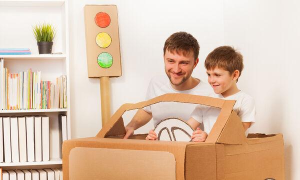 Δεν φαντάζεστε πόσες εντυπωσιακές κατασκευές για παιδιά μπορείτε να φτιάξετε με χαρτόνι (vid)
