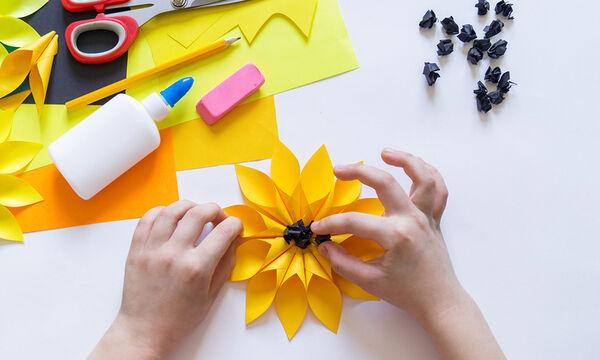 Χειροτεχνίες για παιδιά: Τρεις ανοιξιάτικες κατασκευές από origami (vids)