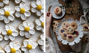 Επτά ιδέες για φανταστικά μπισκότα-λουλουδάκια που μπορείτε να φτιάξετε με τα παιδιά (pics)