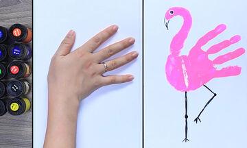 Επτά πανεύκολοι τρόποι για να κάνετε απίθανες ζωγραφιές με ζωάκια (vid)