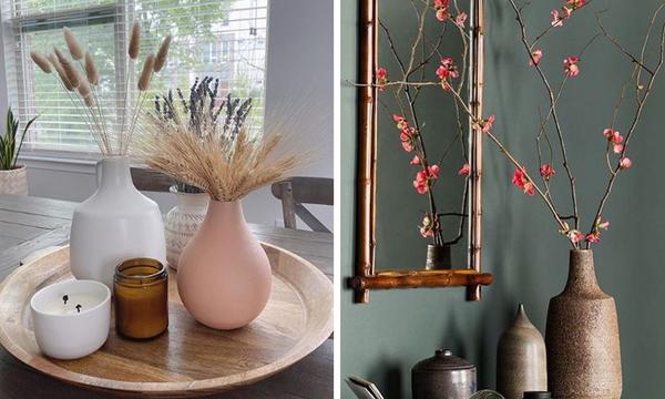 Δέκα υπέροχες ιδέες για να διακοσμήσετε τα βάζα στο σπίτι σας (pics)