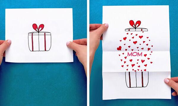 Γιορτή της Μητέρας: Δεκαπέντε ιδέες για απίθανες αυτοσχέδιες κάρτες (vid) -  Mothersblog.gr