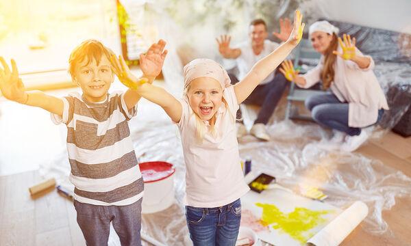 Πώς να βάψετε μόνοι σας το δωμάτιο του παιδιού (vid +pics)