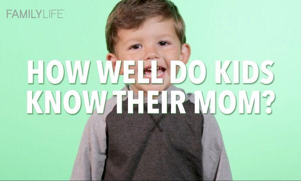 Παιδιά μιλάνε για τη μαμά τους σε ένα πραγματικά απολαυστικό βίντεο (vid)