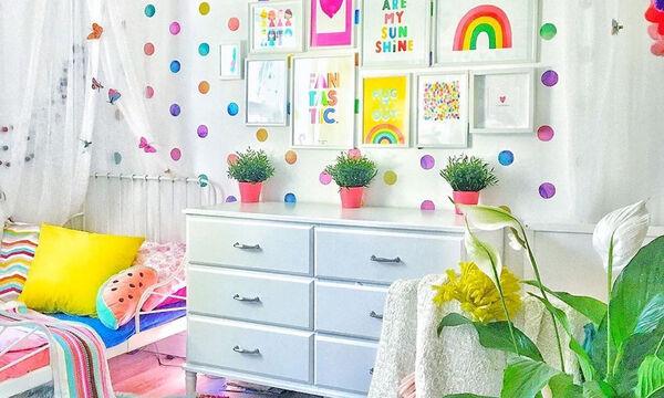 Βάλτε χρώμα στο παιδικό δωμάτιο - Φανταστικές πολύχρωμες ιδέες για να το διακοσμήσετε (vid+pics)