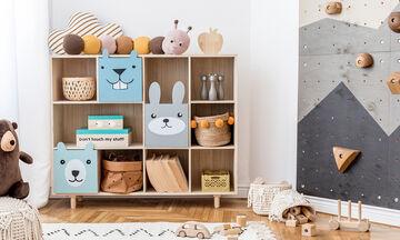 Οκτώ stylish αποθηκευτικές λύσεις για τα παιδικά παιχνίδια και τα βιβλία (pics)