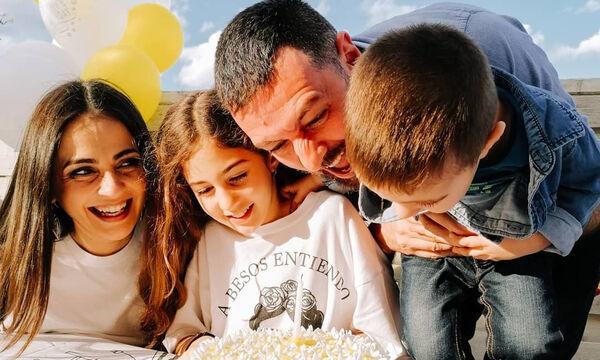 Μάνος Παπαγιάννης: Η λέξη που έμαθε στον γιο του έκανε έξαλλη την Αγγελική Δαλιάνη (vid)